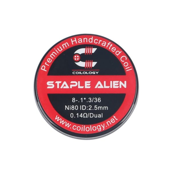 Coilology Framed Staple Alien Coil (Ni80 0.14ohm) - Package
