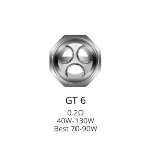 Vaporesso GT6 Coil 0.2 ohm - Top