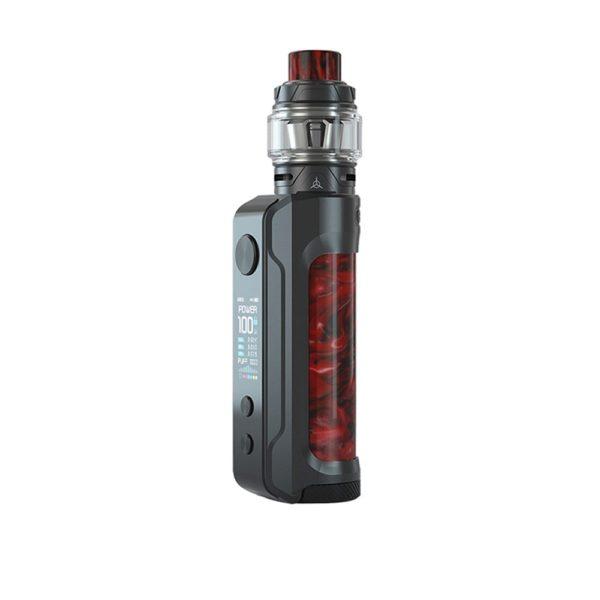 OBS Engine 100W Box Kit 6ml - Gunmetal Ruby Red