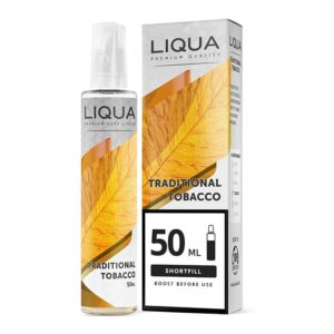Liqua M&G Traditional Tobacco 50 ml Shortfill
